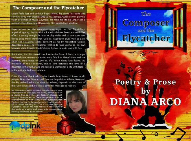 "Visit my publisher at: www.donnaink.org or www.donnaink.com for my new title release, ""The Composer and The Flycatcher."""