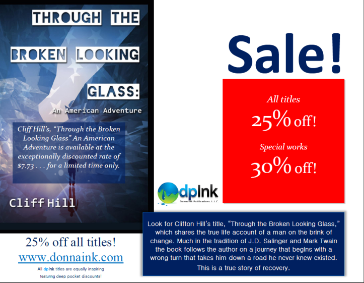 25% discount sale for the 4th of July at www.donnaink.com - visit today!