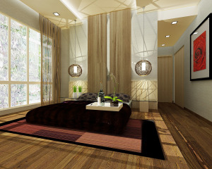 Zen style Bedroom Glamor Ideas-7